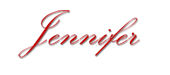 Jennifer Cloake blog signature